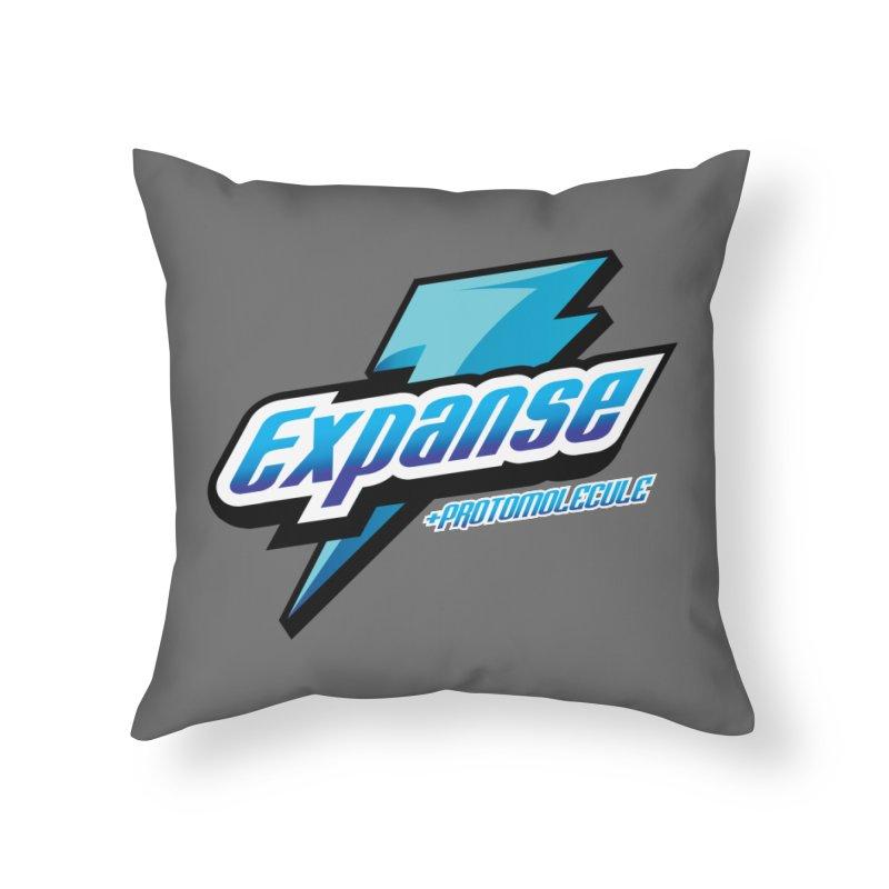 EXPANSE Home Throw Pillow by karmadesigner's Tee Shirt Shop