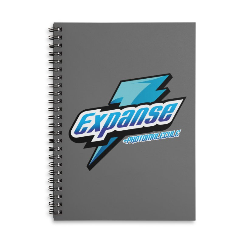 EXPANSE Accessories Lined Spiral Notebook by karmadesigner's Tee Shirt Shop