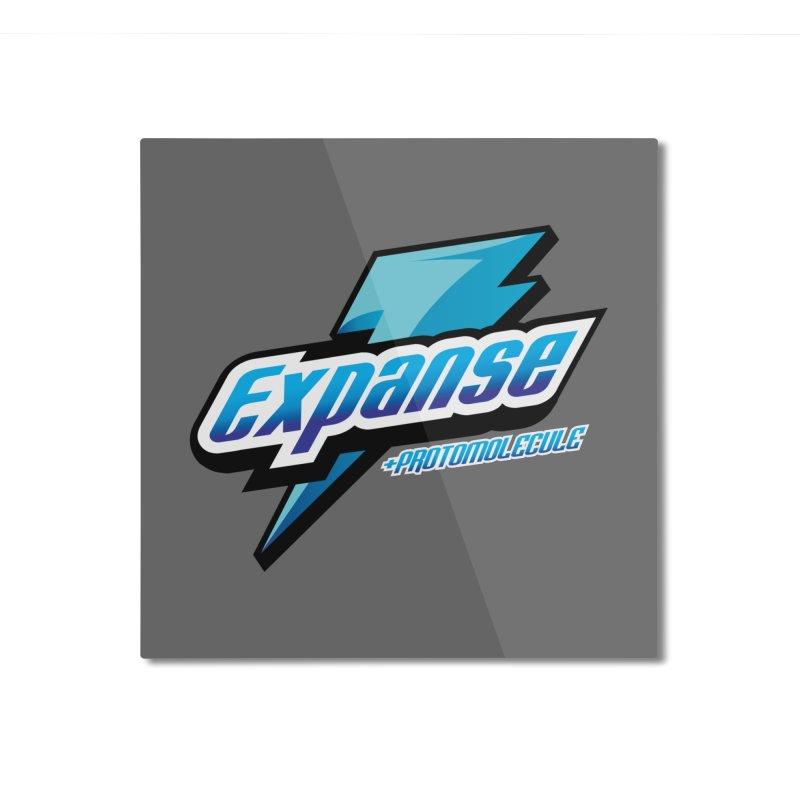 EXPANSE Home Mounted Aluminum Print by karmadesigner's Tee Shirt Shop