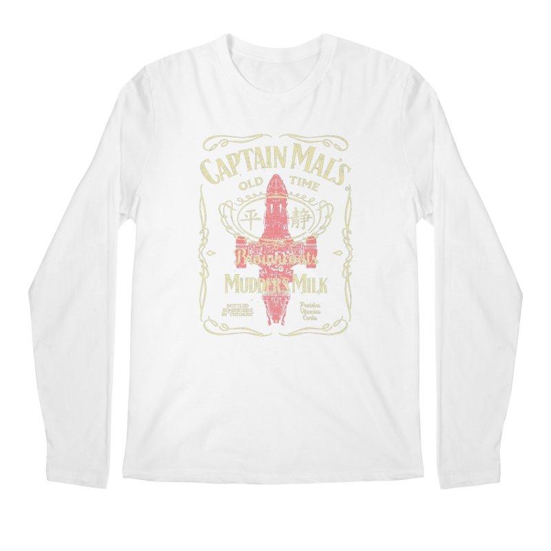 CAPTAIN MAL'S MUDDER'S MILK Men's Regular Longsleeve T-Shirt by karmadesigner's Tee Shirt Shop