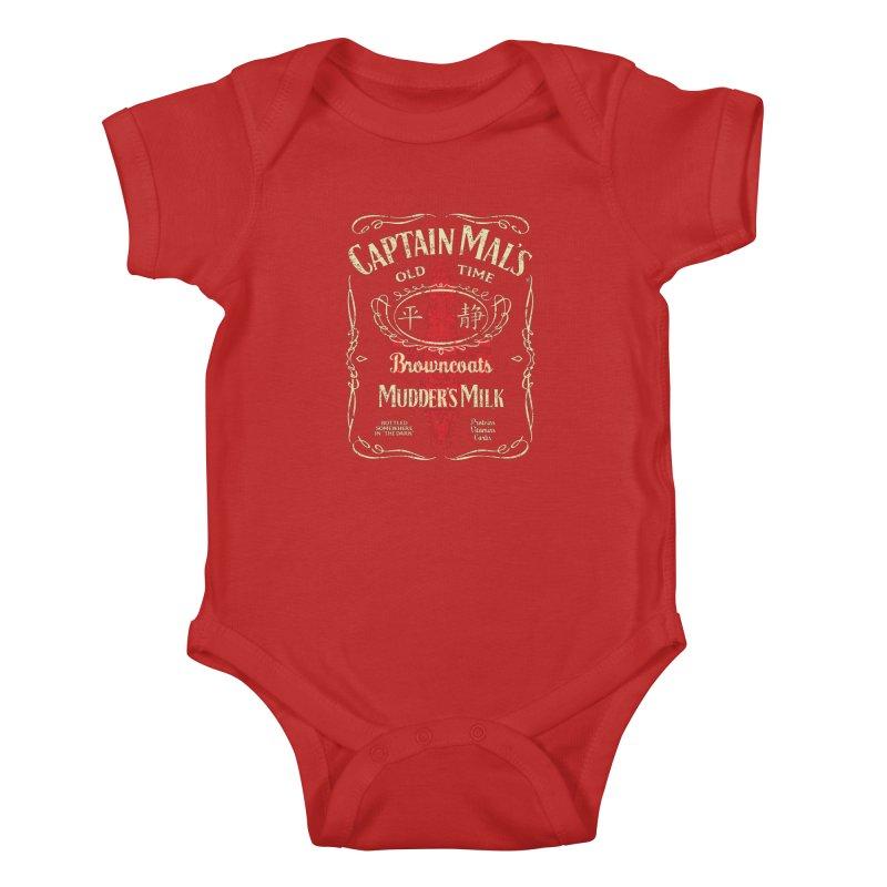 CAPTAIN MAL'S MUDDER'S MILK Kids Baby Bodysuit by karmadesigner's Tee Shirt Shop
