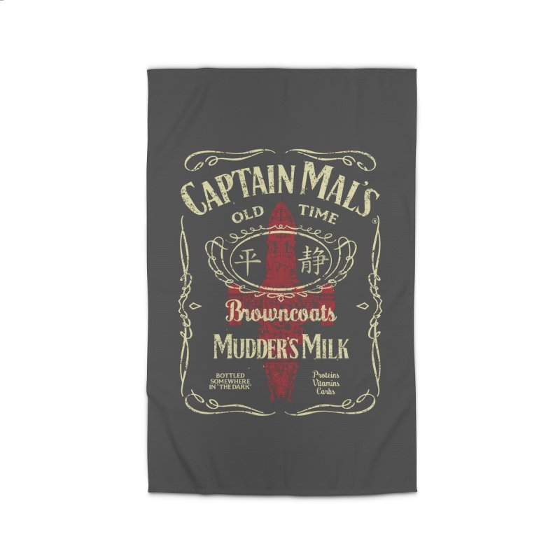CAPTAIN MAL'S MUDDER'S MILK Home Rug by karmadesigner's Tee Shirt Shop