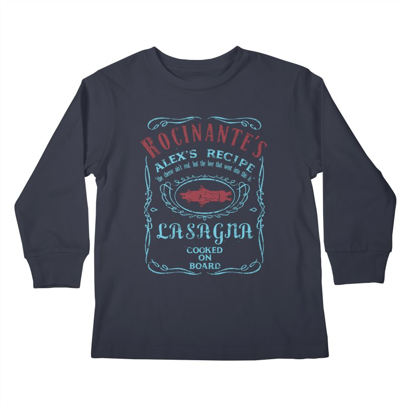 ROCINANTE'S ALEX LASAGNA Kids Longsleeve T-Shirt by karmadesigner's Tee Shirt Shop