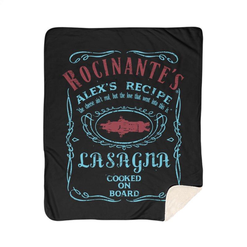 ROCINANTE'S ALEX LASAGNA Home Sherpa Blanket Blanket by karmadesigner's Tee Shirt Shop