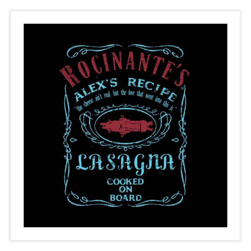 ROCINANTE'S ALEX LASAGNA Home Fine Art Print by karmadesigner's Tee Shirt Shop