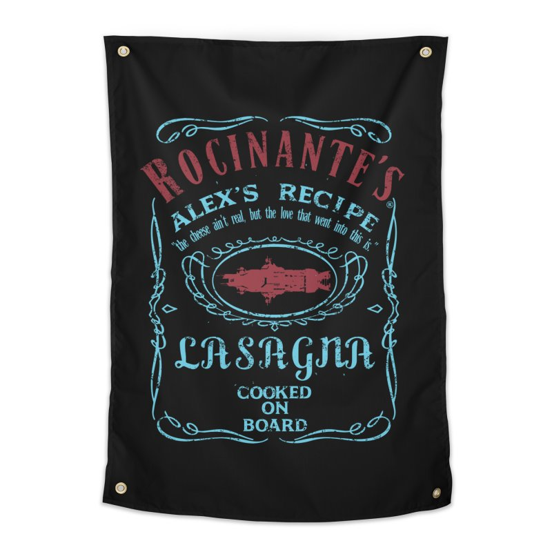 ROCINANTE'S ALEX LASAGNA Home Tapestry by karmadesigner's Tee Shirt Shop