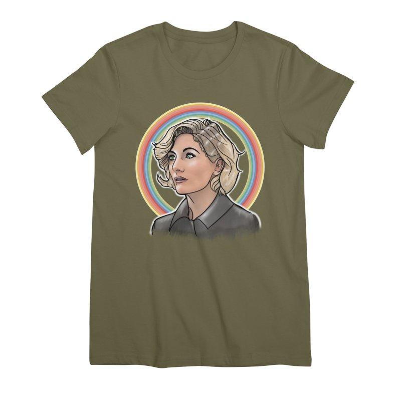 DON'T PANIC! Women's Premium T-Shirt by karmadesigner's Tee Shirt Shop