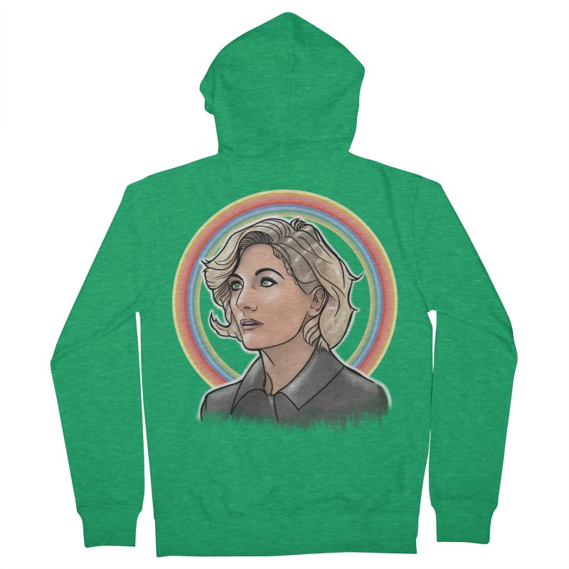 DON'T PANIC! Women's Zip-Up Hoody by karmadesigner's Tee Shirt Shop