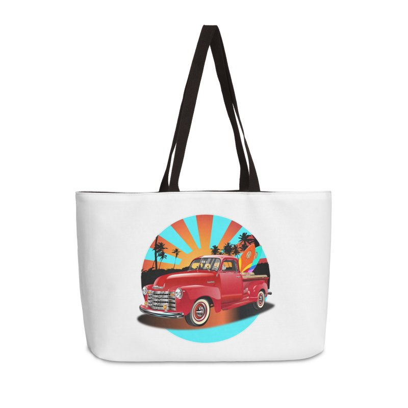 WORLD WILD WAVE Accessories Bag by karmadesigner's Tee Shirt Shop