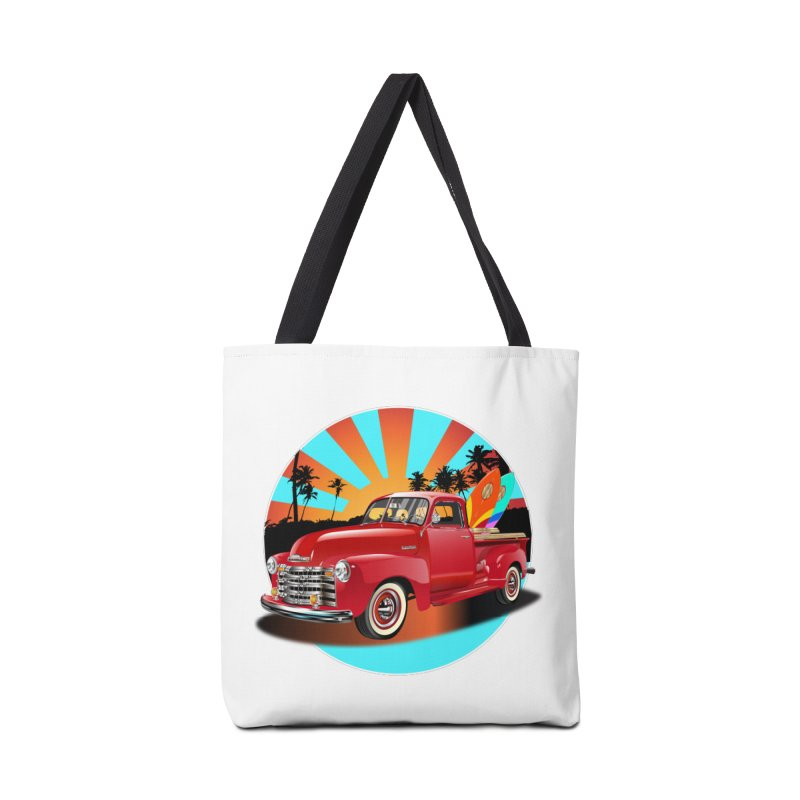 WORLD WILD WAVE Accessories Tote Bag Bag by karmadesigner's Tee Shirt Shop