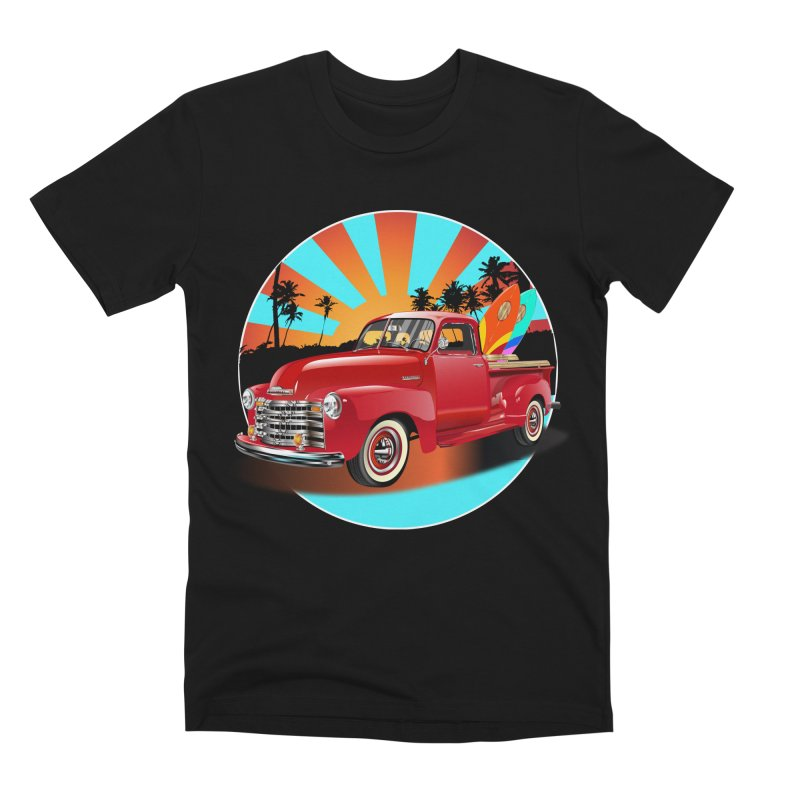WORLD WILD WAVE Men's Premium T-Shirt by karmadesigner's Tee Shirt Shop