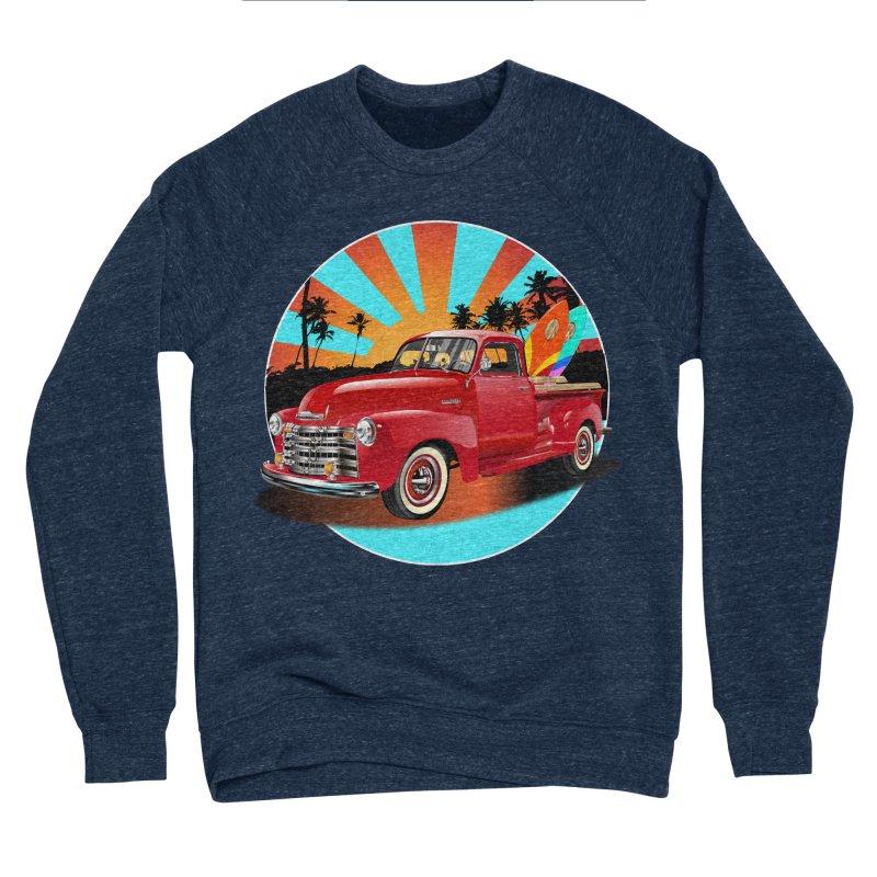WORLD WILD WAVE Men's Sponge Fleece Sweatshirt by karmadesigner's Tee Shirt Shop