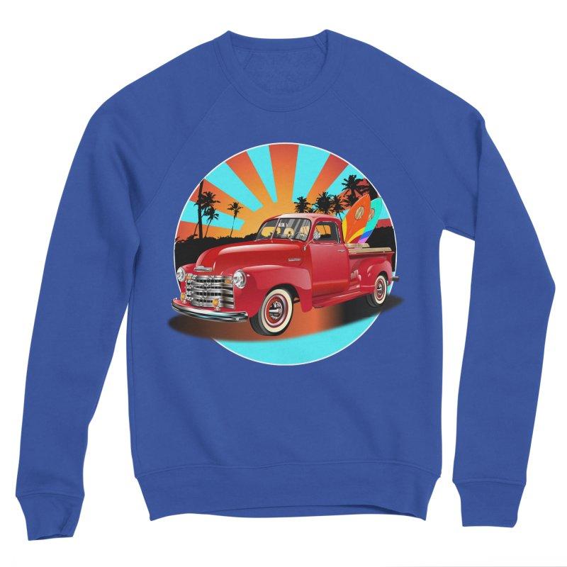 WORLD WILD WAVE Men's Sweatshirt by karmadesigner's Tee Shirt Shop