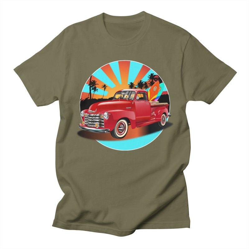 WORLD WILD WAVE Men's Regular T-Shirt by karmadesigner's Tee Shirt Shop