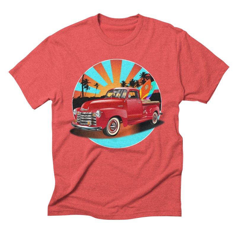 WORLD WILD WAVE Men's Triblend T-Shirt by karmadesigner's Tee Shirt Shop