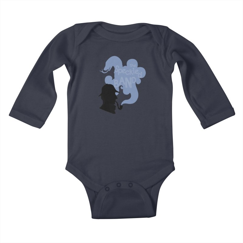 The Speckled Band Kids Baby Longsleeve Bodysuit by karmicangel's Artist Shop
