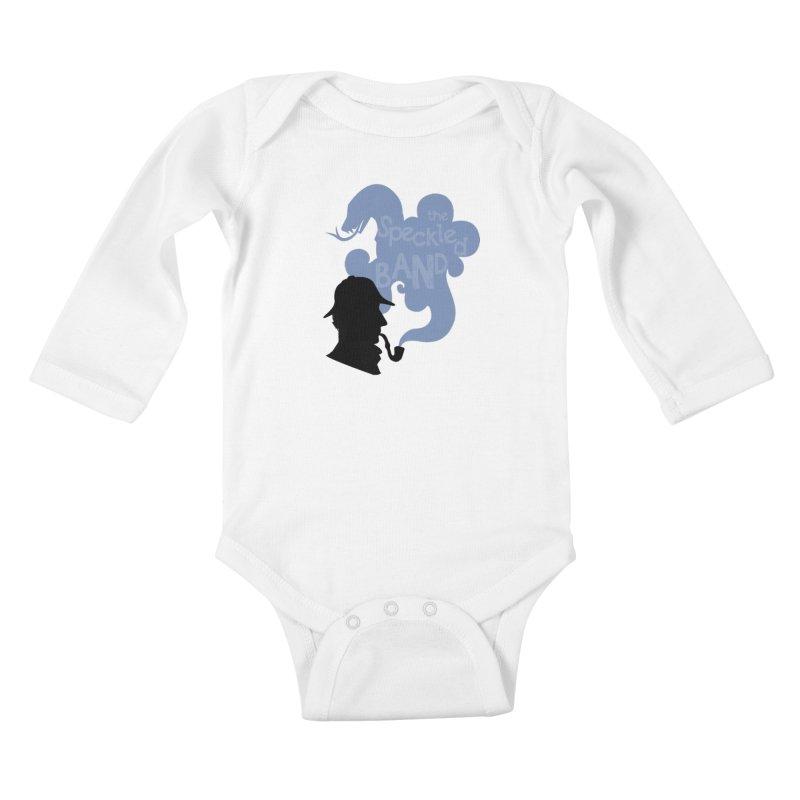 The Speckled Band Kids Baby Longsleeve Bodysuit by karmicangel's Artist Shop
