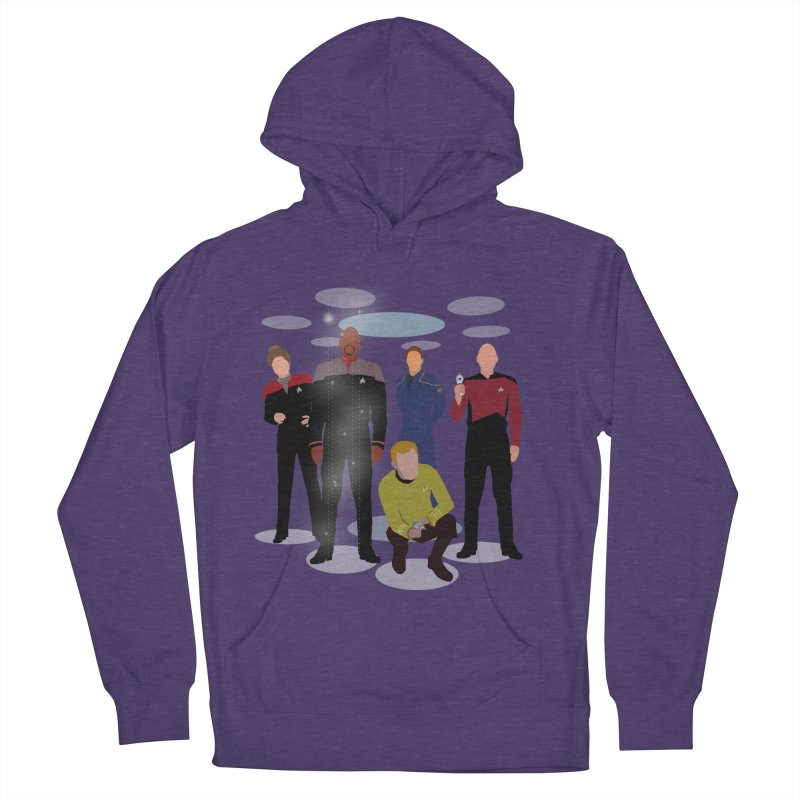 Captains Away Mission Women's French Terry Pullover Hoody by karmicangel's Artist Shop