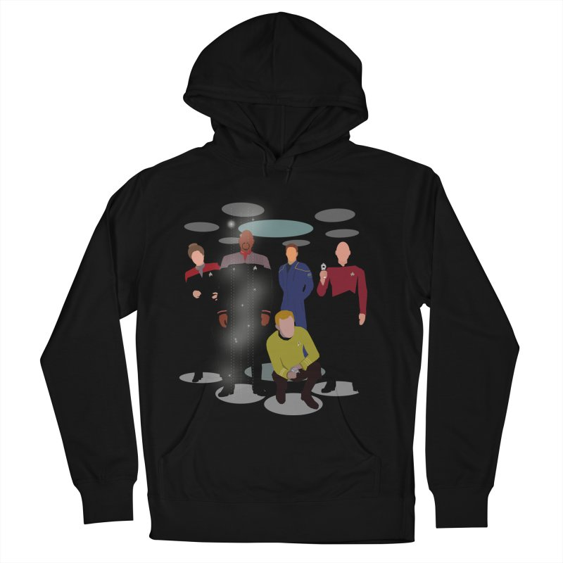 Captains Away Mission Men's French Terry Pullover Hoody by karmicangel's Artist Shop