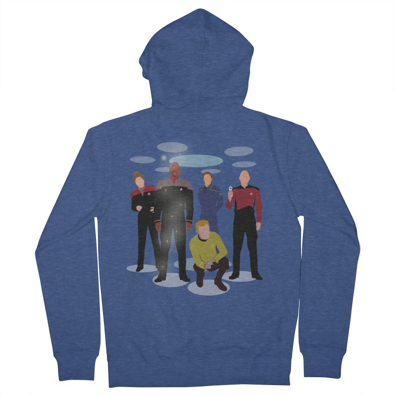 Captains Away Mission Men's Zip-Up Hoody by karmicangel's Artist Shop