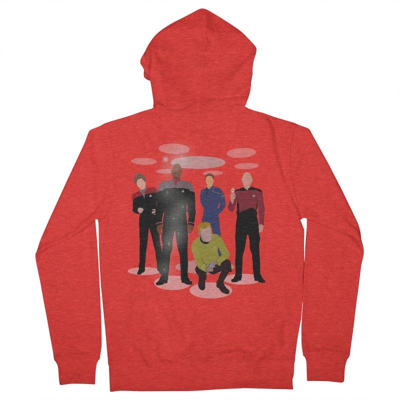 Captains Away Mission Men's Zip-Up Hoody by karmicangel's Artist Shop