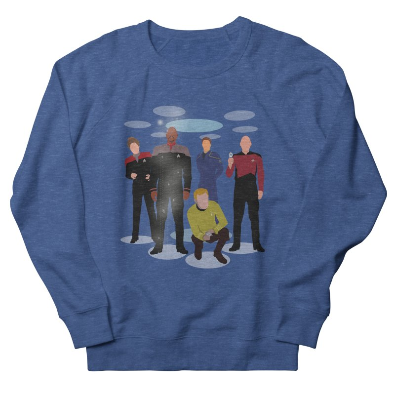 Captains Away Mission Women's French Terry Sweatshirt by karmicangel's Artist Shop