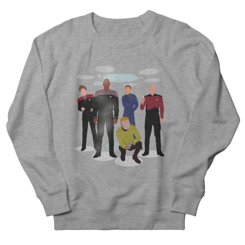 Captains Away Mission Men's French Terry Sweatshirt by karmicangel's Artist Shop