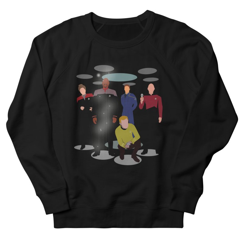 Captains Away Mission Men's French Terry Sweatshirt by karmicangel's Artist Shop