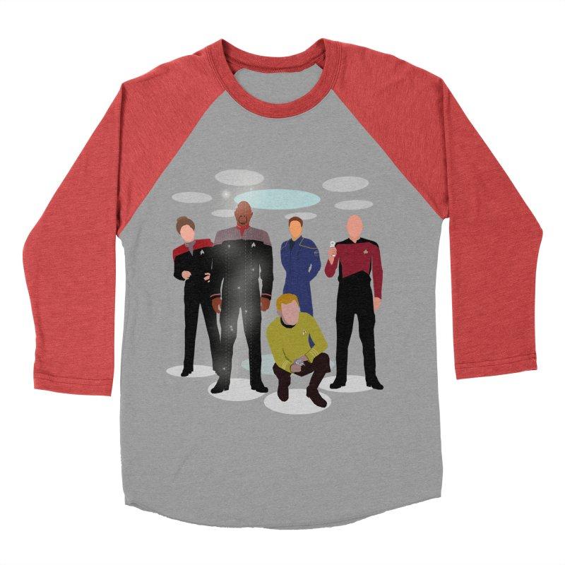 Captains Away Mission Women's Baseball Triblend Longsleeve T-Shirt by karmicangel's Artist Shop