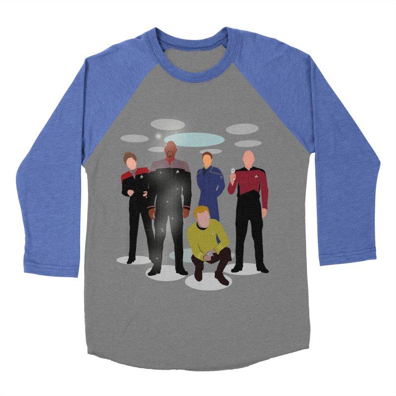 Captains Away Mission Men's Baseball Triblend Longsleeve T-Shirt by karmicangel's Artist Shop