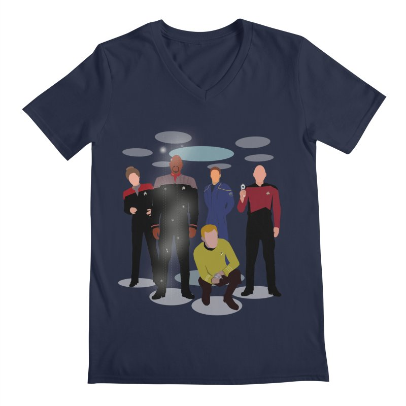 Captains Away Mission Men's Regular V-Neck by karmicangel's Artist Shop