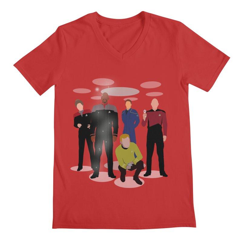 Captains Away Mission Men's V-Neck by karmicangel's Artist Shop