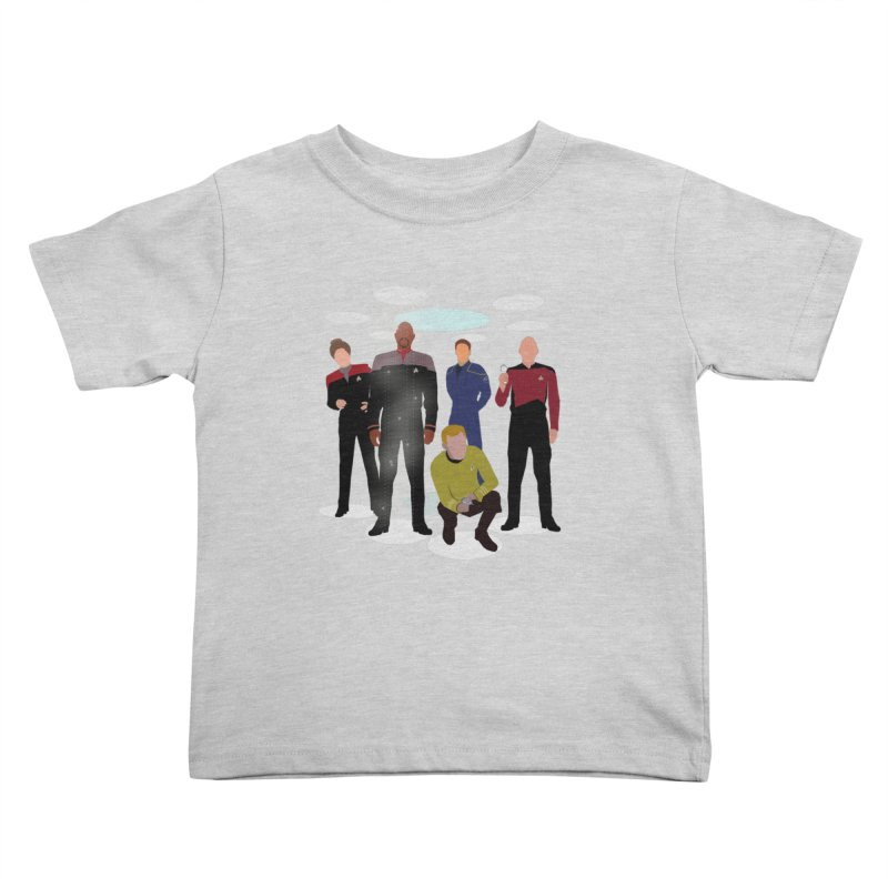Captains Away Mission Kids Toddler T-Shirt by karmicangel's Artist Shop