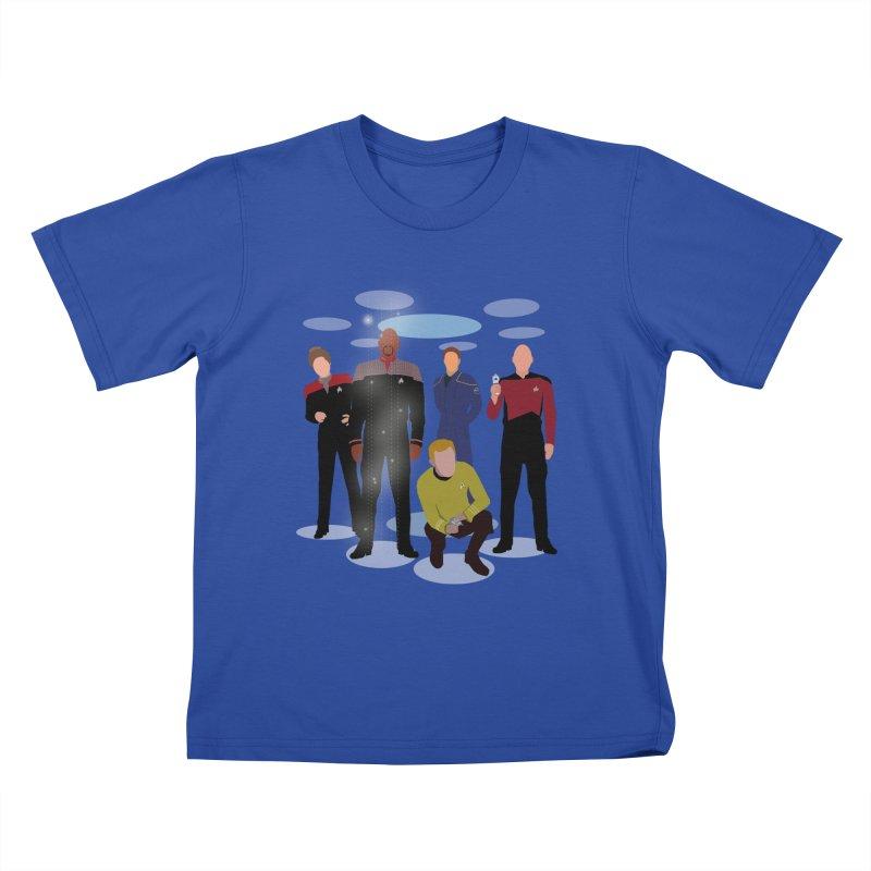 Captains Away Mission Kids T-Shirt by karmicangel's Artist Shop