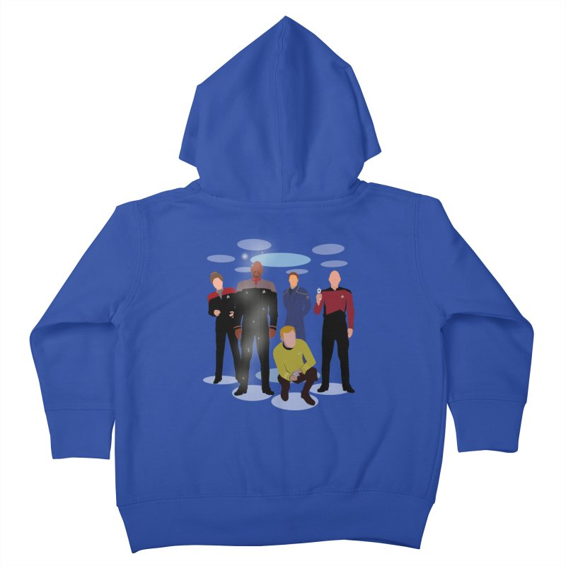 Captains Away Mission Kids Toddler Zip-Up Hoody by karmicangel's Artist Shop