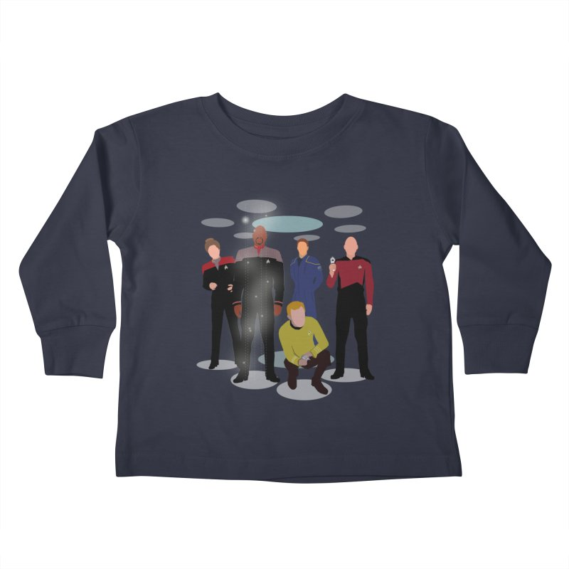 Captains Away Mission Kids Toddler Longsleeve T-Shirt by karmicangel's Artist Shop