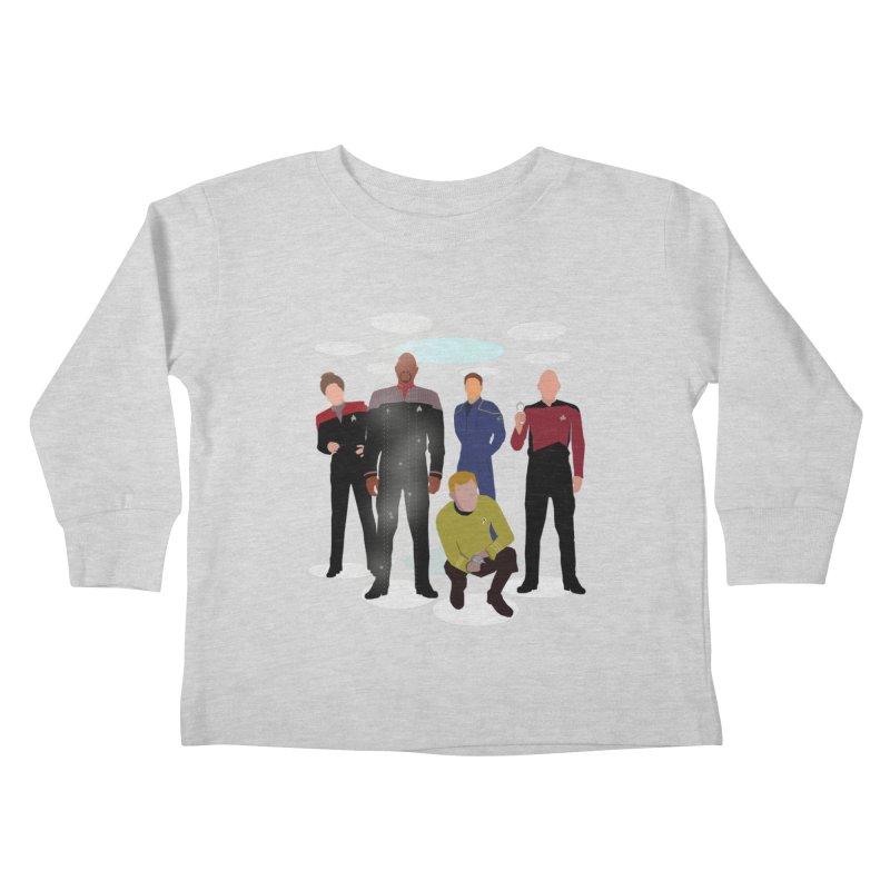 Captains Away Mission Kids Toddler Longsleeve T-Shirt by karmicangel's Artist Shop