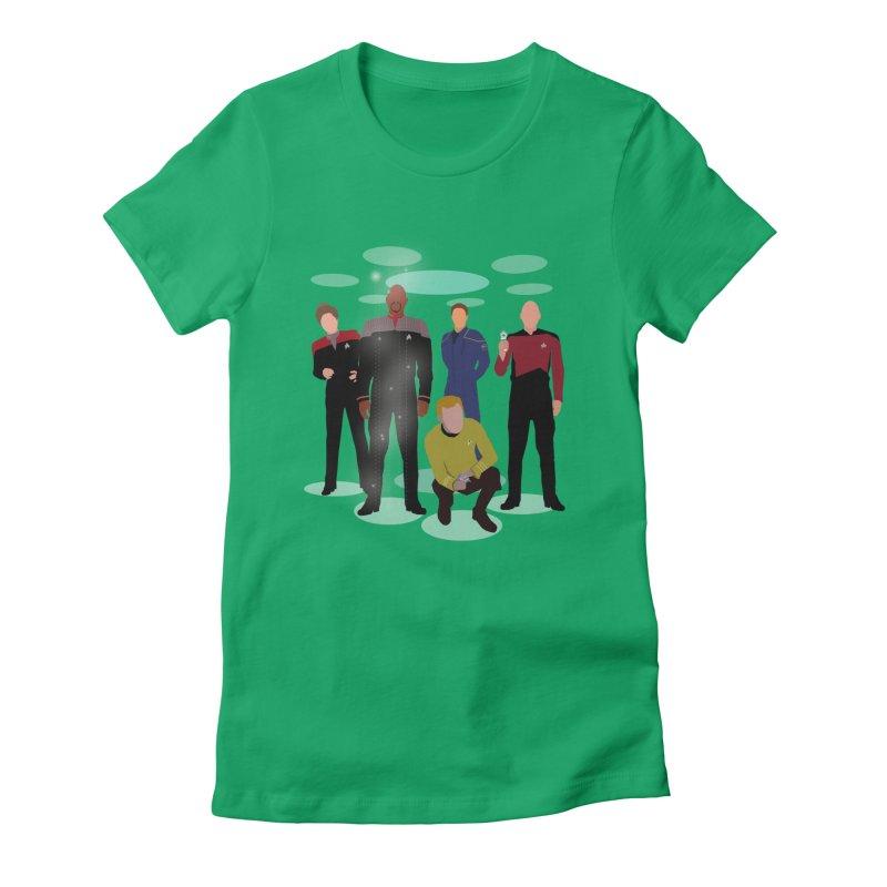 Captains Away Mission Women's T-Shirt by karmicangel's Artist Shop