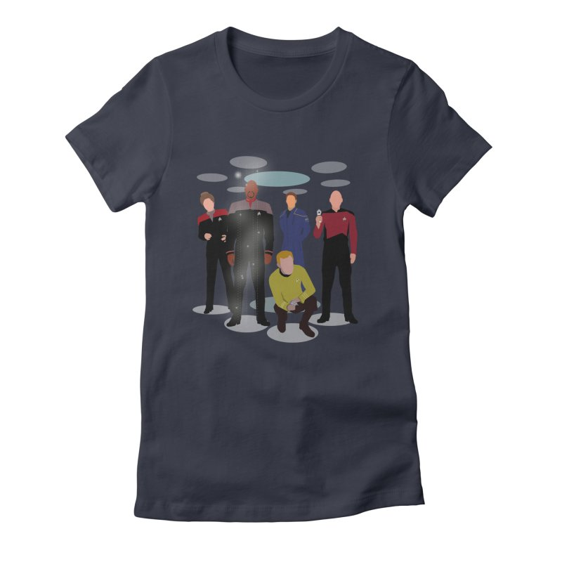 Captains Away Mission Women's Fitted T-Shirt by karmicangel's Artist Shop