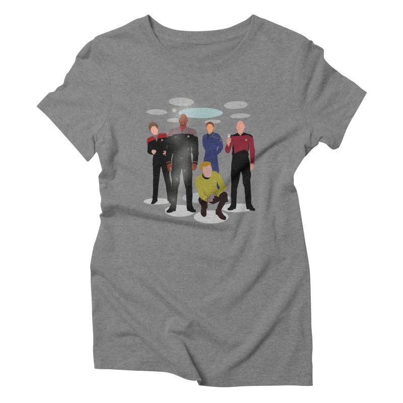 Captains Away Mission Women's Triblend T-Shirt by karmicangel's Artist Shop