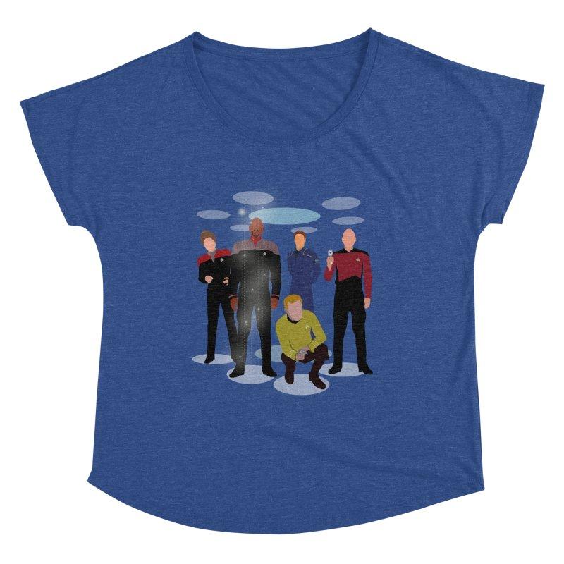 Captains Away Mission Women's Scoop Neck by karmicangel's Artist Shop