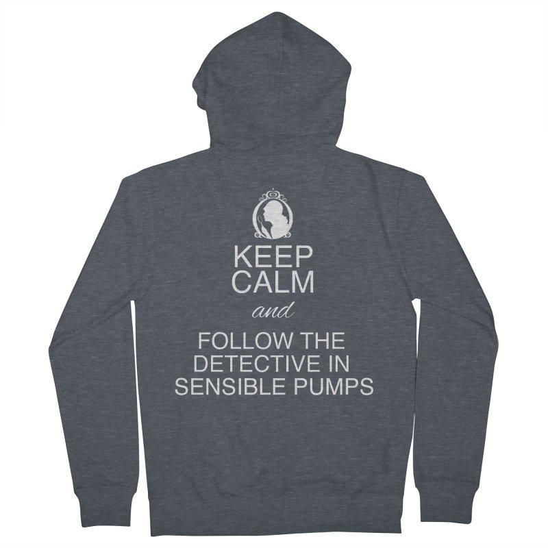 Portia Adams 'Keep Calm' Women's Zip-Up Hoody by karmicangel's Artist Shop