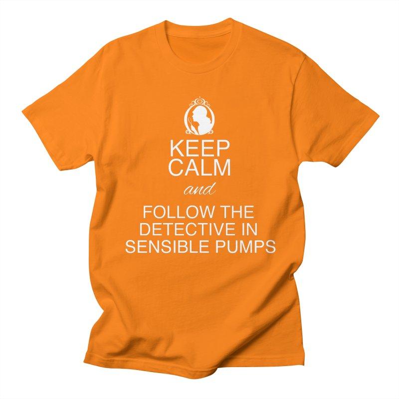 Portia Adams 'Keep Calm' Men's Regular T-Shirt by karmicangel's Artist Shop