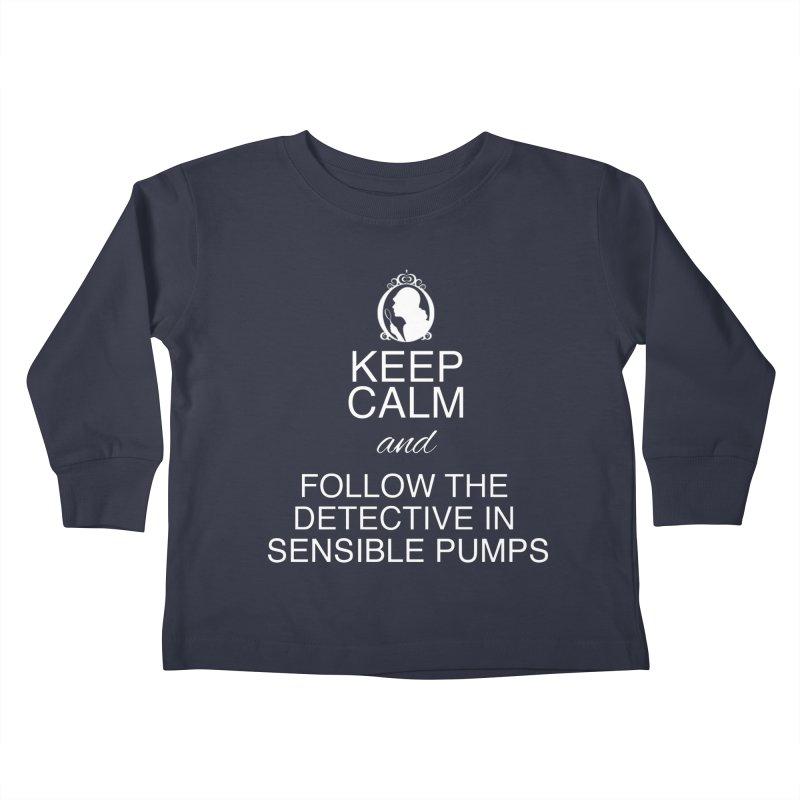 Portia Adams 'Keep Calm' Kids Toddler Longsleeve T-Shirt by karmicangel's Artist Shop