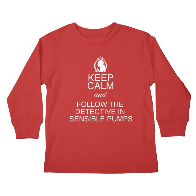 Portia Adams 'Keep Calm' Kids Longsleeve T-Shirt by karmicangel's Artist Shop
