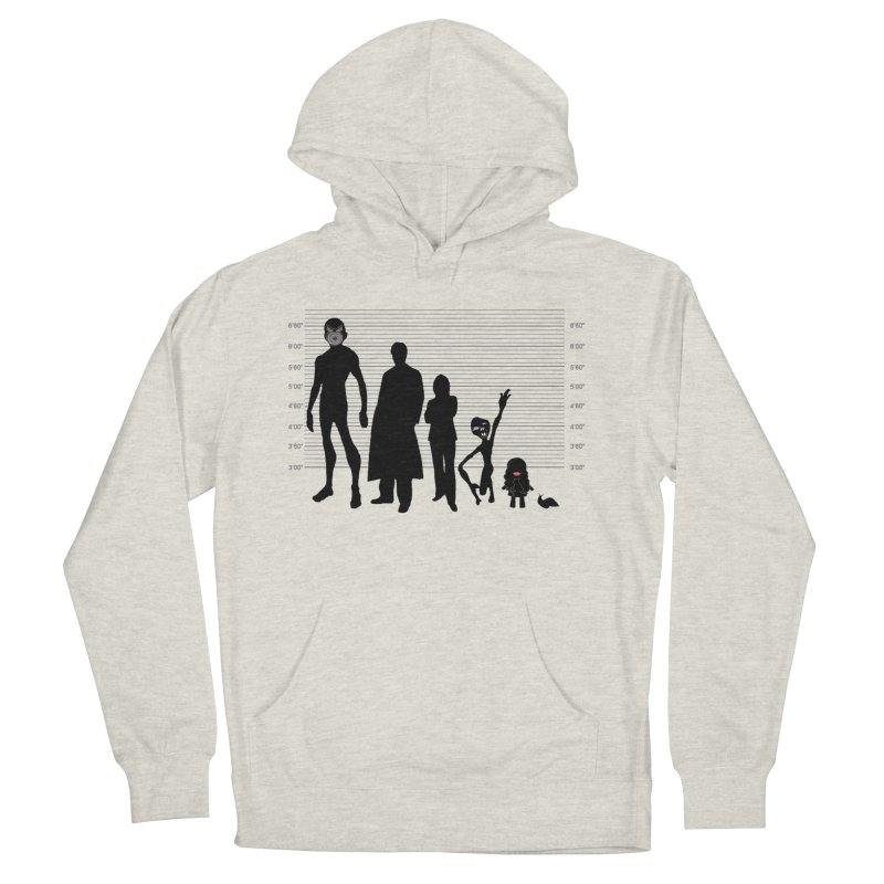 X-Files: The Usual Monsters Women's French Terry Pullover Hoody by karmicangel's Artist Shop