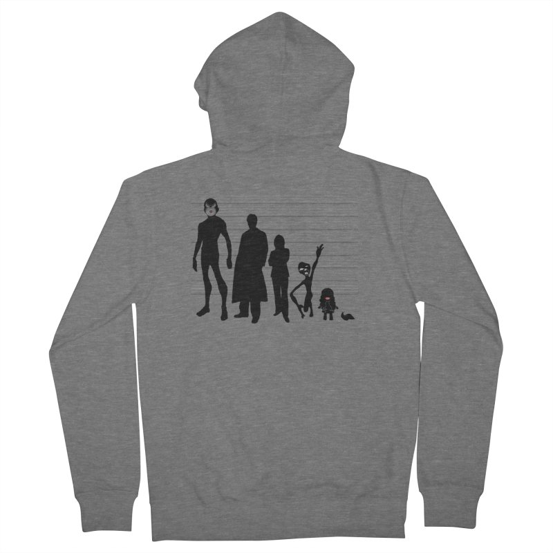 X-Files: The Usual Monsters Women's Zip-Up Hoody by karmicangel's Artist Shop