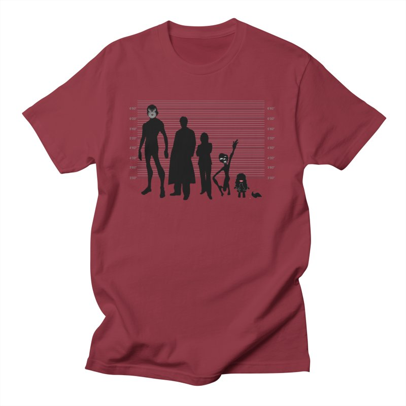 X-Files: The Usual Monsters Men's T-Shirt by karmicangel's Artist Shop