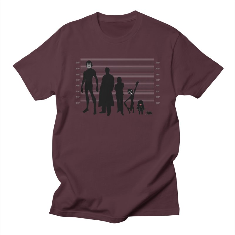 X-Files: The Usual Monsters Men's Regular T-Shirt by karmicangel's Artist Shop