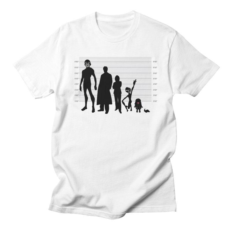 X-Files: The Usual Monsters Men's Regular T-Shirt by karmicangel's Artist Shop